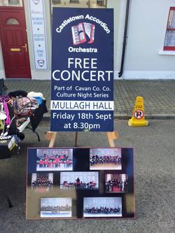 castletown accordion free concert