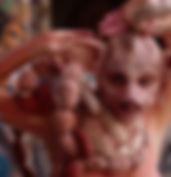 Fanny Journaut, masque cochon, cie nouons-nous
