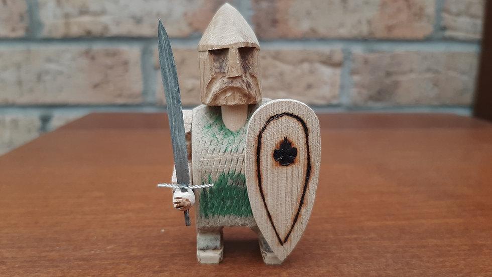 Warrior handmade from Oak No3