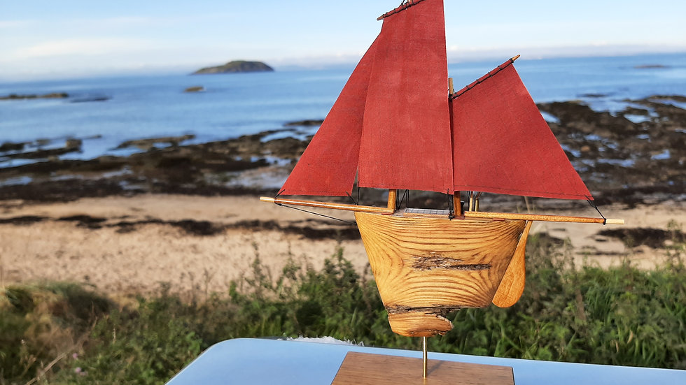 Driftwood Zulu Fishing Boat