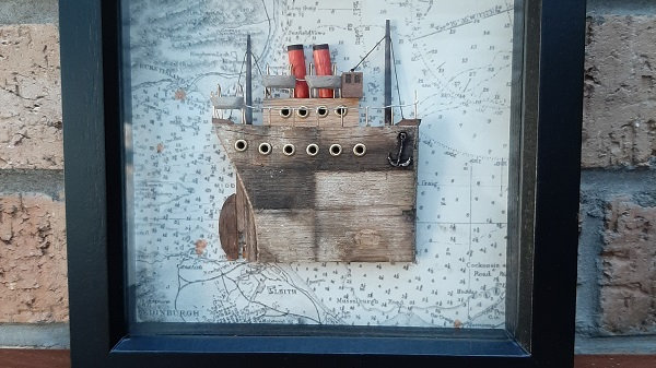 Small relief boat picture