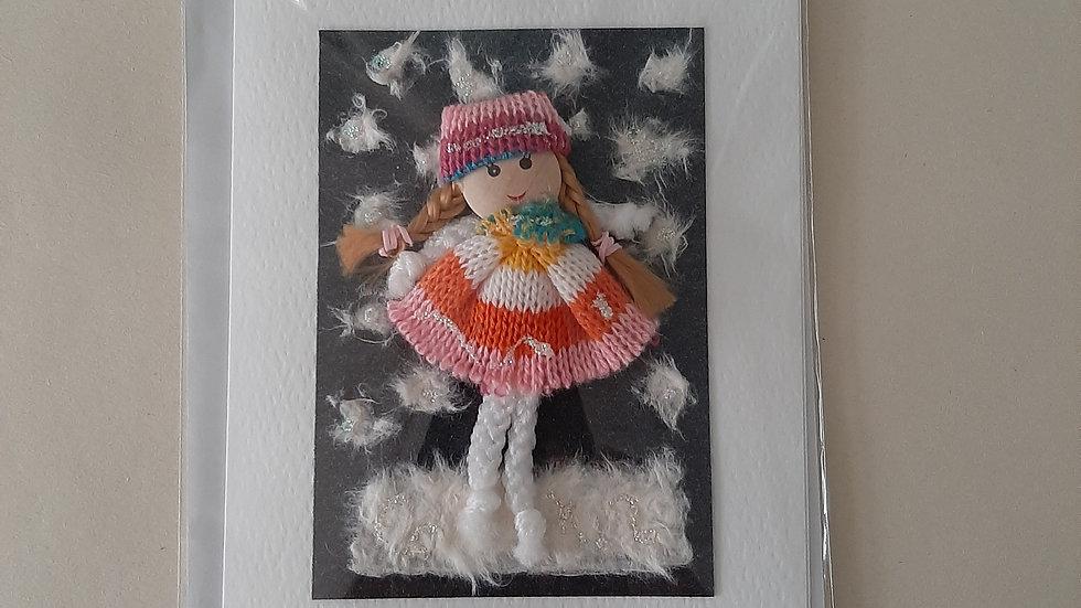 Dolly Christmas card
