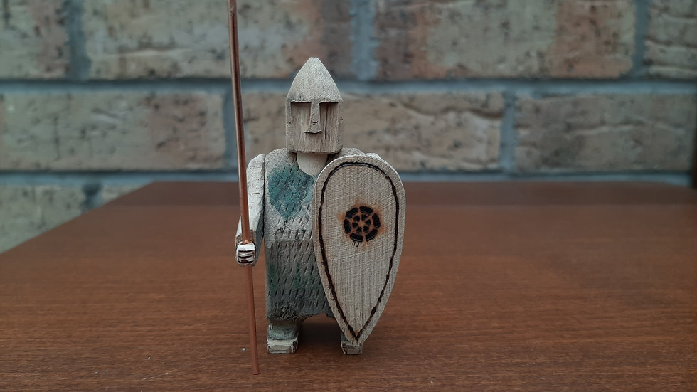 Warrior handmade from Oak No2