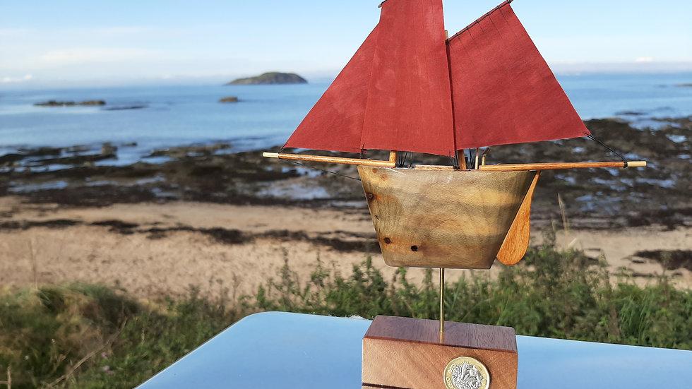 Driftwood Zulu Herring Sailing Drifter No3