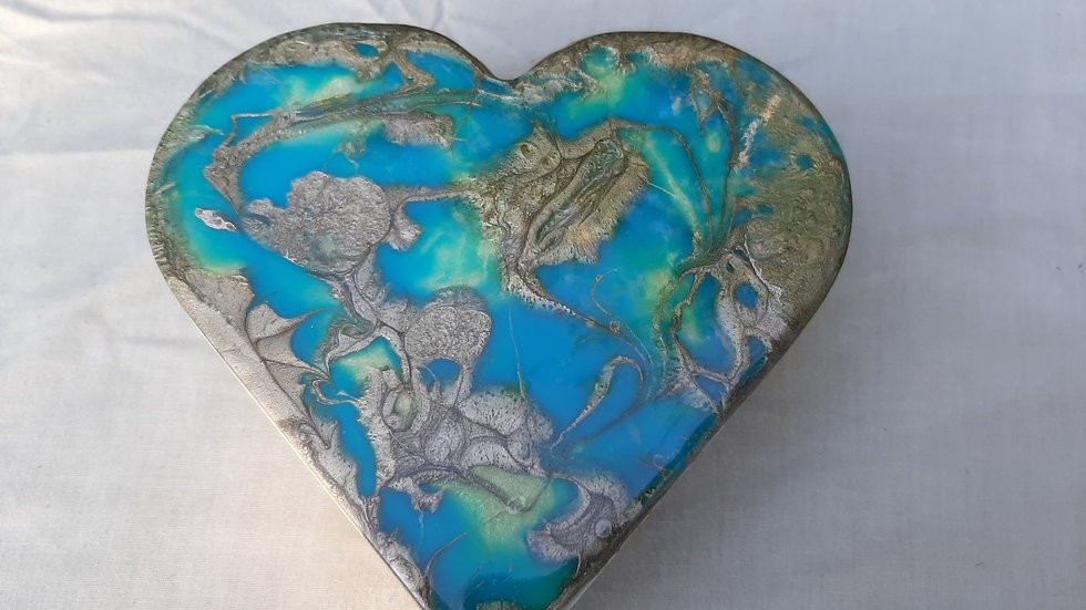 Resin Heart Boxes