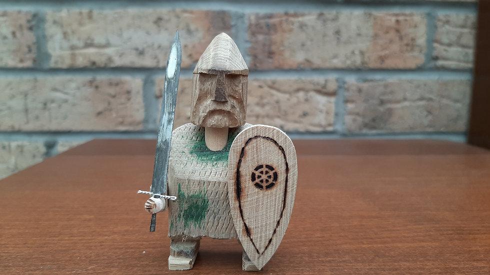 Warrior handmade from Oak No1