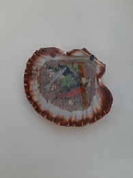 3D fish in resin