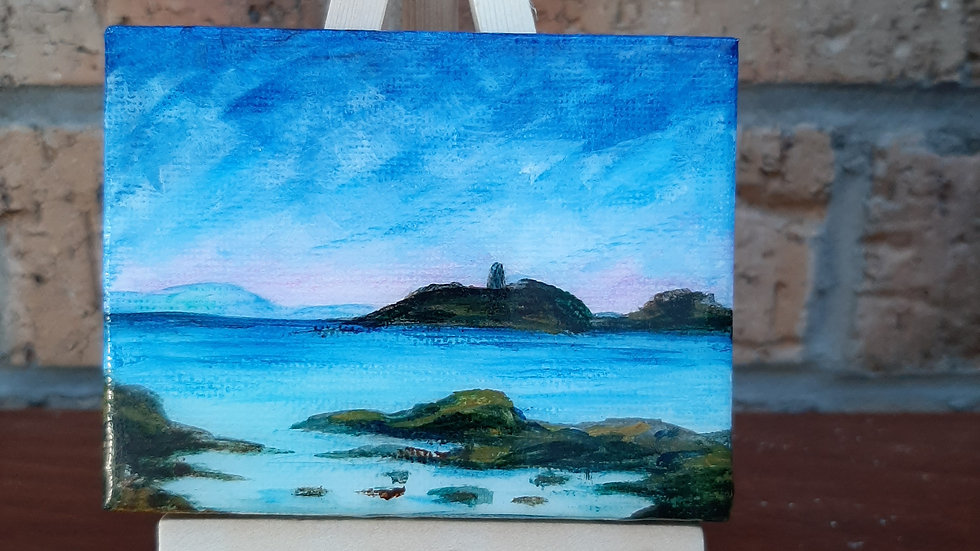 Small painting west coast islands.