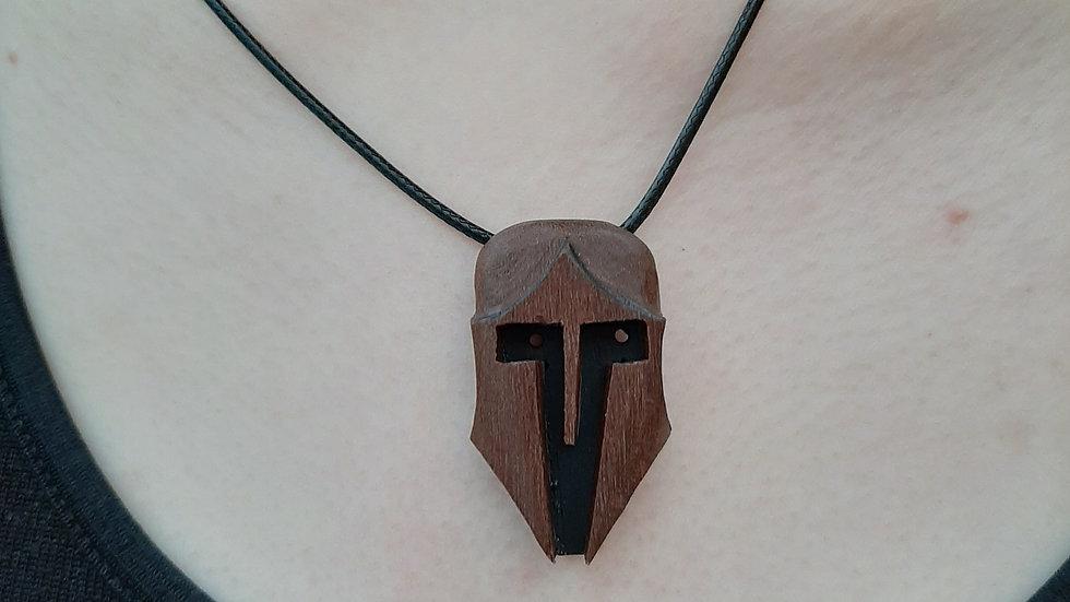 Spartan Helmet in hardwood