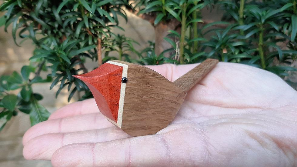 Wooden Robin birds