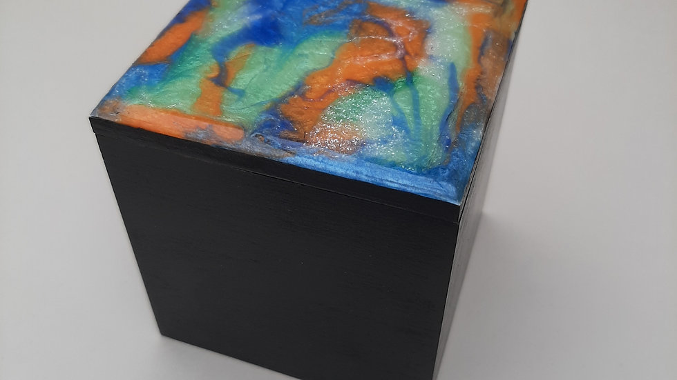 Resin Square Boxes