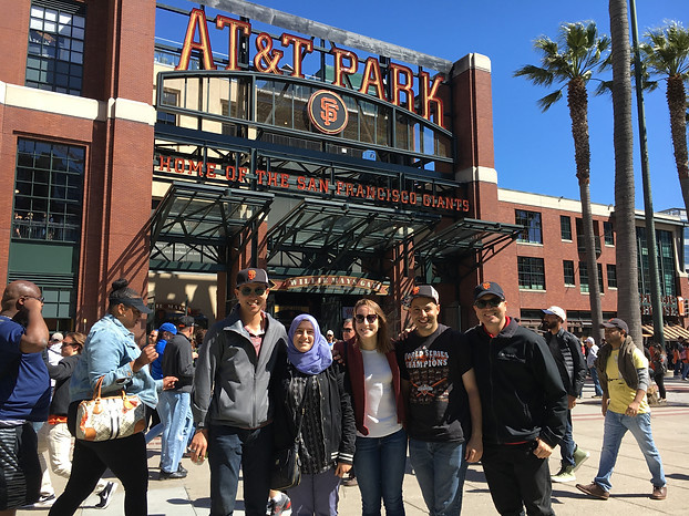 SF Giants Game 2017