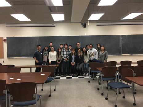 UC Berkeley Mentorship Event