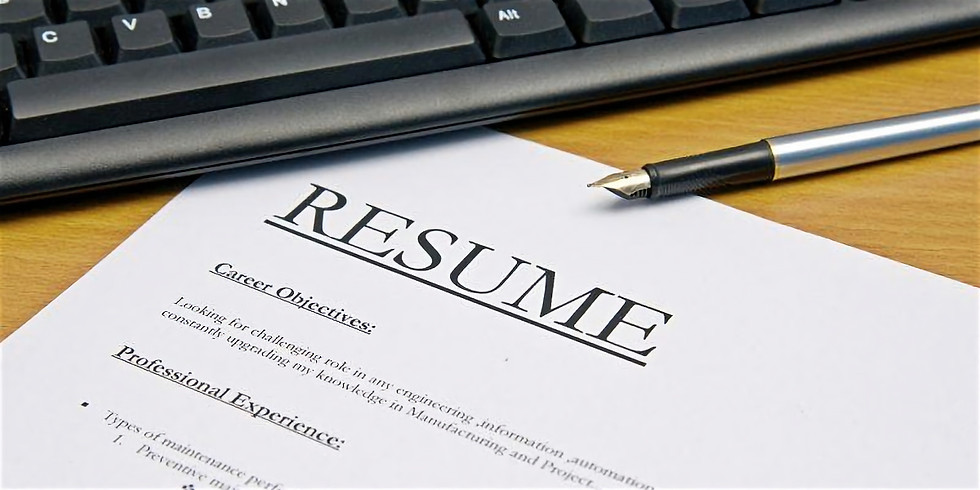 Resume Workshop at SFSU