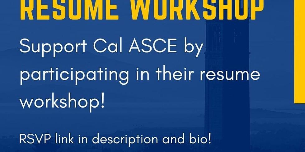 UC Berkeley Virtual Resume Workshop