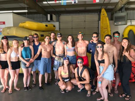 American River Rafting Trip