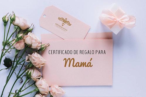 Certificado de Regalo $75.00
