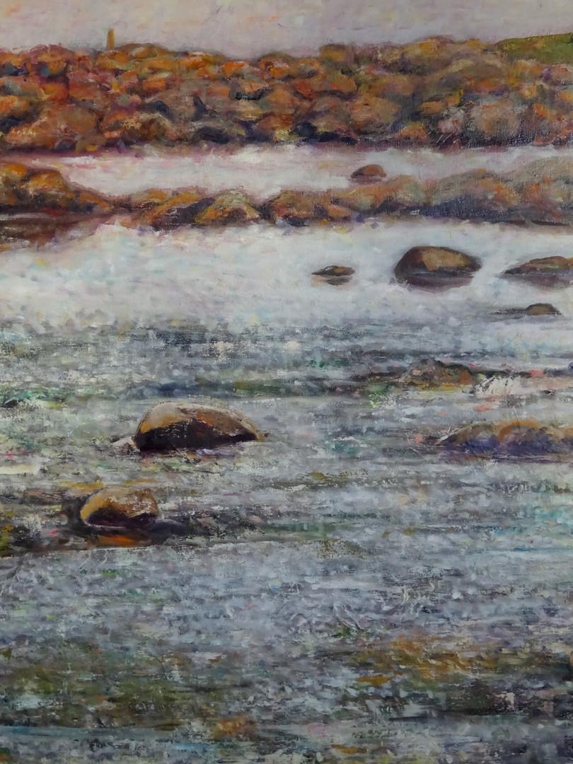 Marée basse à Tregastel 2