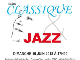 Kate Sors - Carte blanche,  CONCERT entre CLASSIQUE & JAZZ
