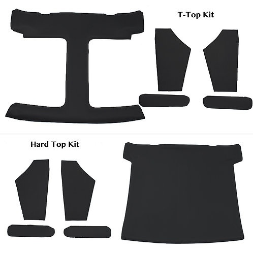 Headliner Kit incl Sail Panels and Sunvisors