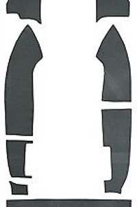 1982-1992 Camaro Firebird Cargo Area Carpet Trim