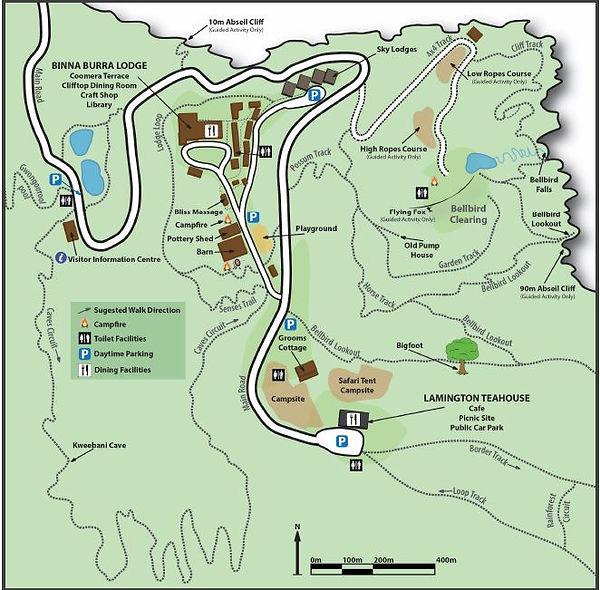 Map of Binna Burra.JPG