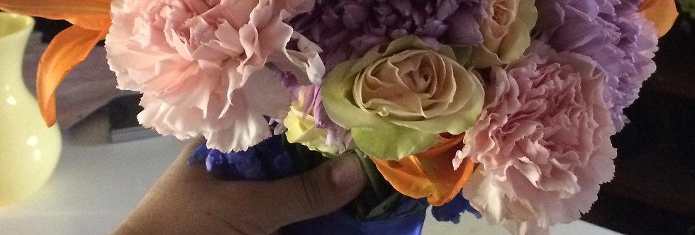 Bridal Sunset Bouquet