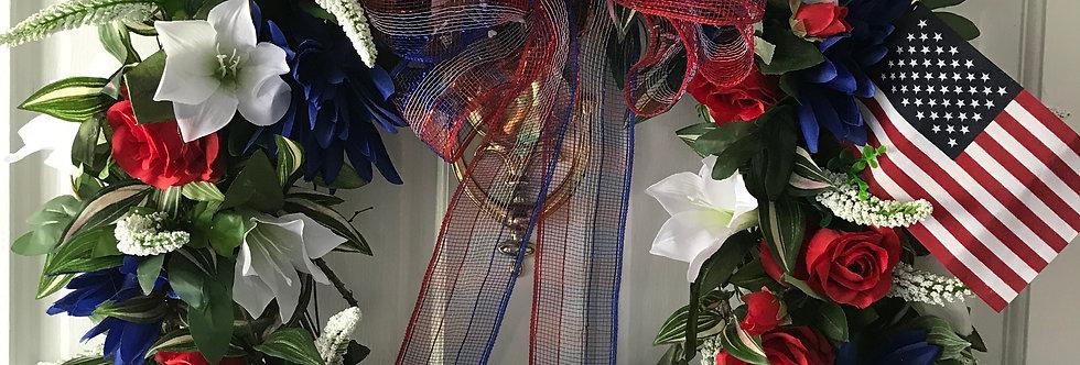 The Patriotic Wreath