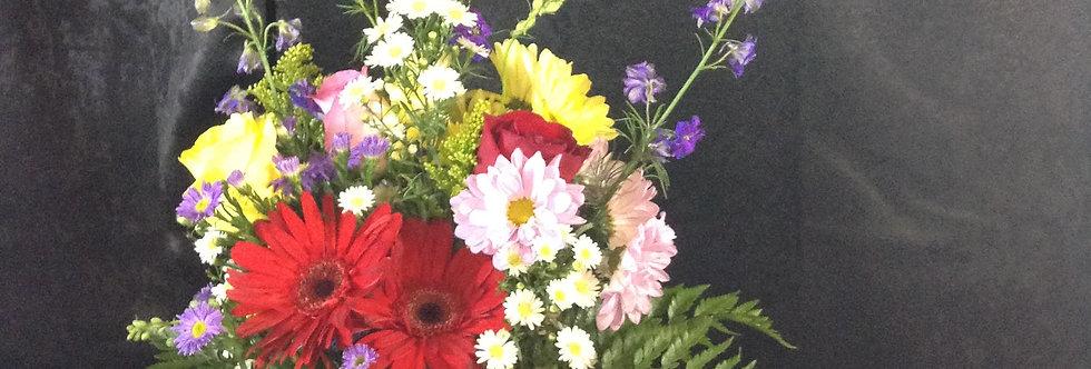 Annie's Dash of Red Bouquet