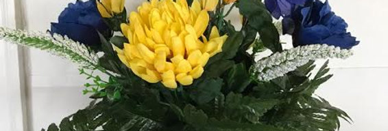 Rain and Sunshine Silk Vase