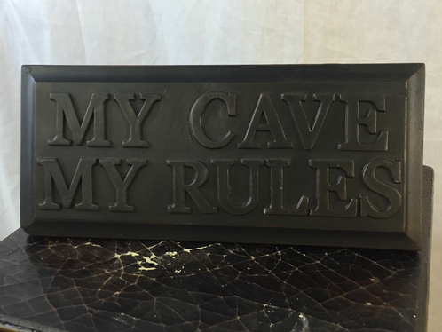Men 39 S My Cave My Rules Sign Bouquet Shoppe Bowling Green Flowers And Gifts