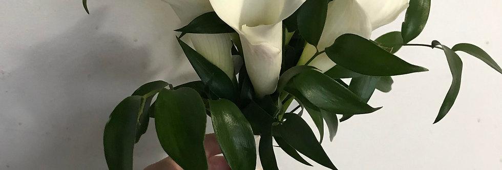 Calla Lily Hand Bouquet