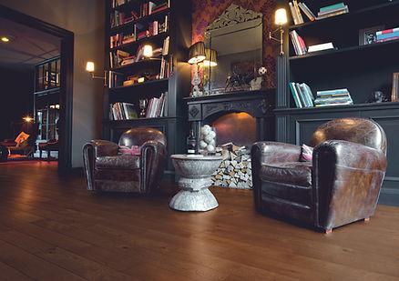 Eichendielen Fußboden dunkel geölt rusti