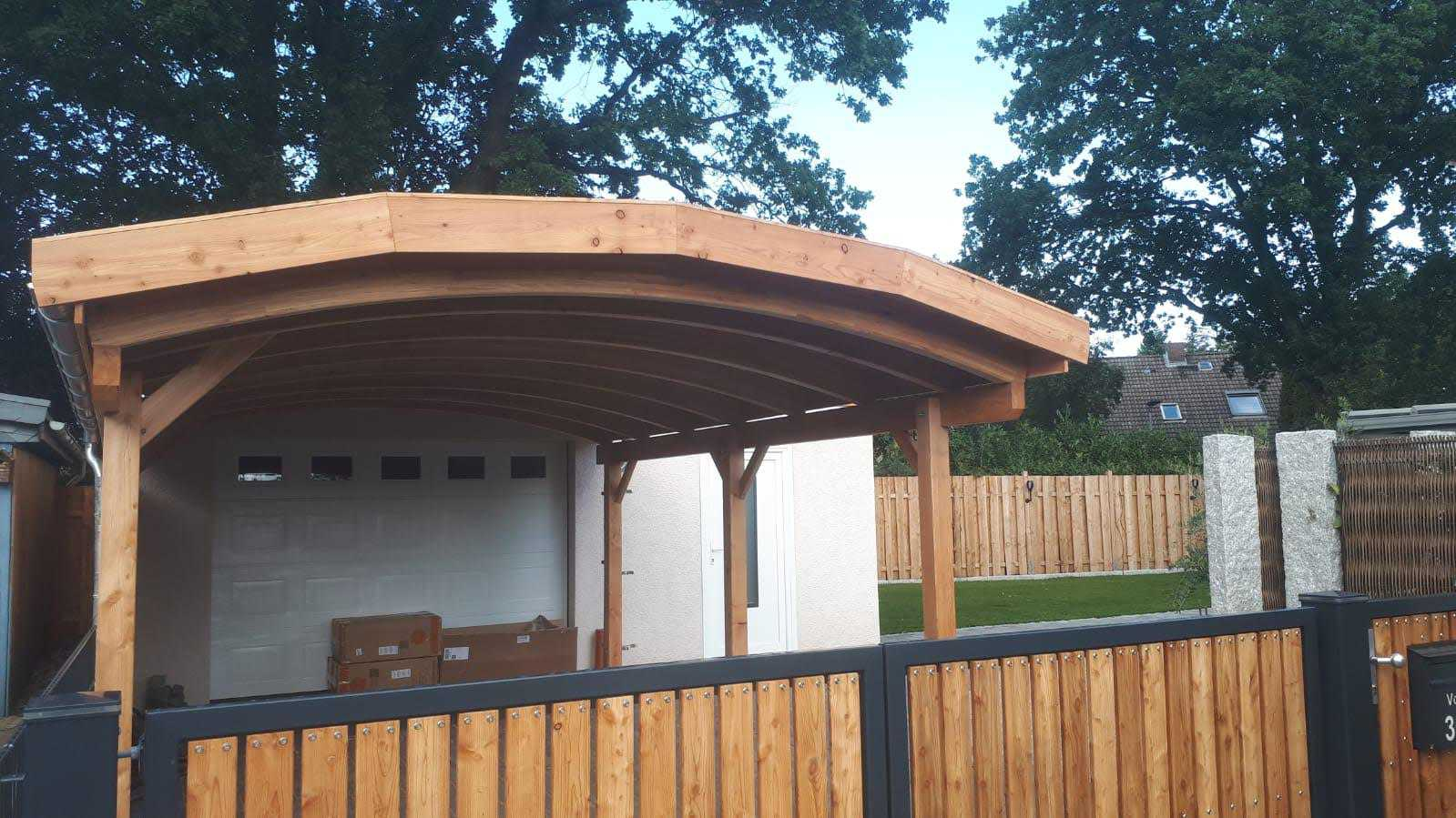 Bogendachcarport FREESE Holz