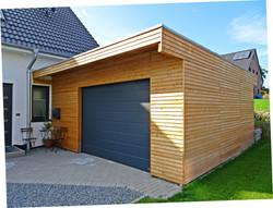 Fassade Holz modern waagerecht