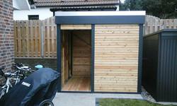 Gartenschuppen modernes Design FREESE Holz
