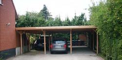 Carportanlage mit 3 Stellplätzen, Carport für drei Autos