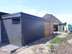 Carport modern Schichtstoffplatten