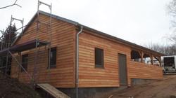 Fassade Holzhaus Montage