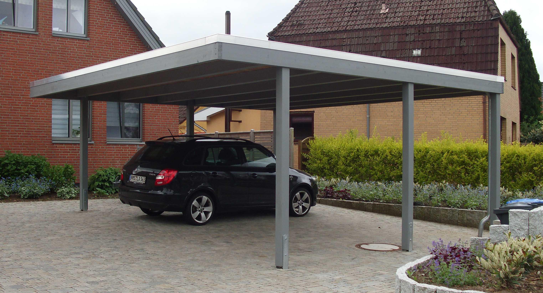 Bausatz Carport Klare Linie modern
