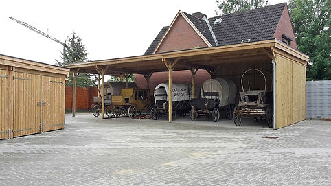 Carport Reihenanlage individuell mit Montage