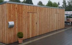 Schuppen modern 2 Türen FREESE Holz