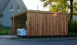Schuppen Holz massiv natur FREESE Holz