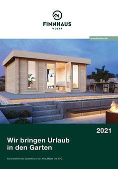 Wolff Finnhaus Gartenhäuser Katalog 2021