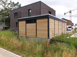 Carport Cubus modern Abstellraum