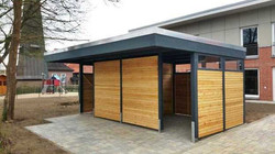 Abstellraum im modernen Design mit Vorda