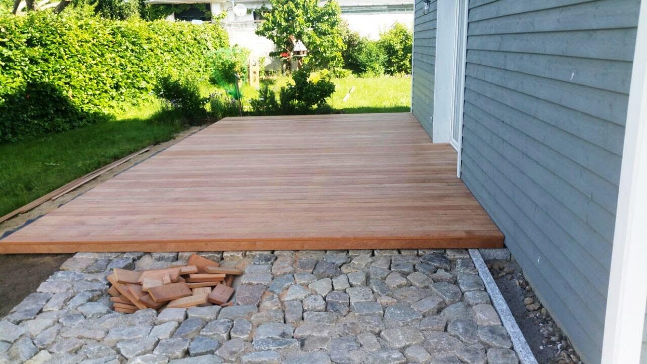 Terrasse Holz Garten langlebig