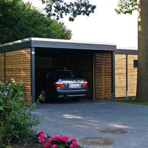 Carport modern KLARE LINIE Quickborn