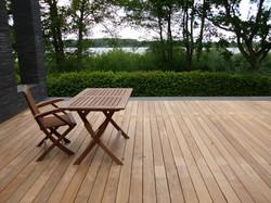 Terrasse groß Ipe Holz