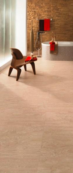 Designboden Marmor Korkfußboden